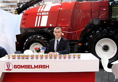Gomselmash in Agritechnica 2015