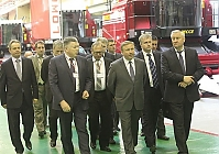 "Prime Minister of the Republic of Belarus visited ""Gomselmash"""