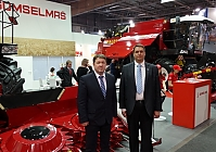 "MACHINERY ""PALESSE"" AT THE EXHIBITION ""TECHAGRO 2016"""