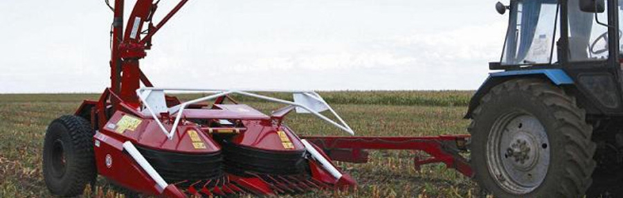 "PULL-TYPE FORAGE HARVESTING COMBINE ""PALESSE FT40"""