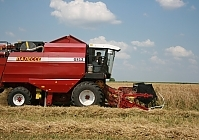 """GOMSELMASH"" WILL TEST THE GRAIN HARVESTER ON GAS FUEL"