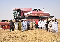 PALESSE COMBINE PASSED FIELD TESTING FOR THE FIRST TIME IN PAKISTAN